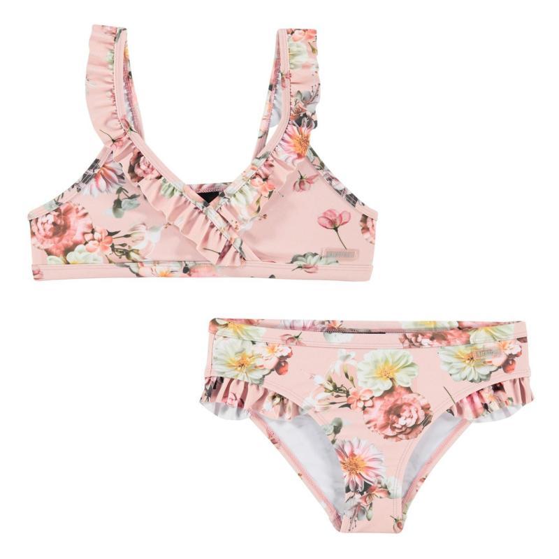 Firetrap Bikini Junior Girls Lotus Flowers
