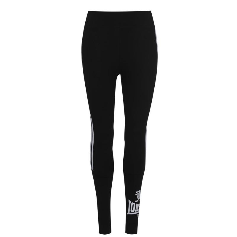 Legíny Lonsdale Logo Leggings Ladies Black