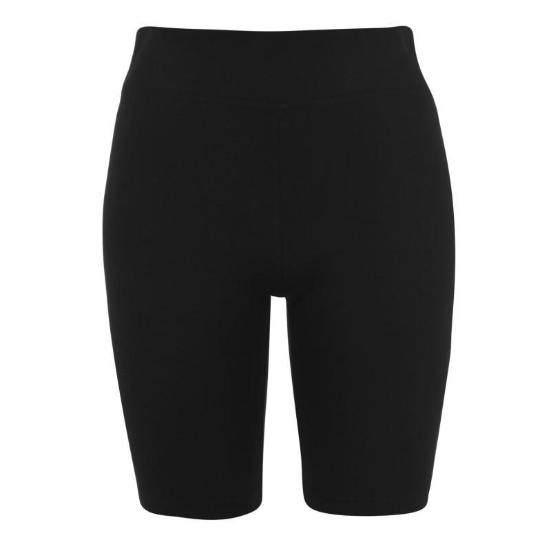 Miso High Waisted Cycling Shorts Ladies Black