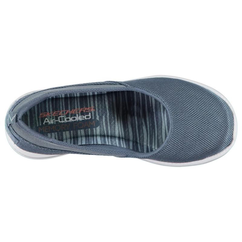 Obuv Skechers City Pro Slip On Shoes Ladies Slate