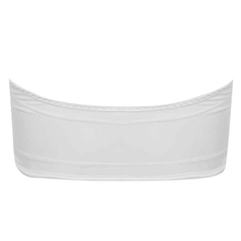 Plavky SoulCal Bandeau Bikini Top White