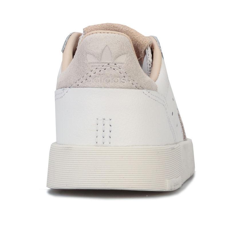 Adidas Originals Children Girls Supercourt Trainers White