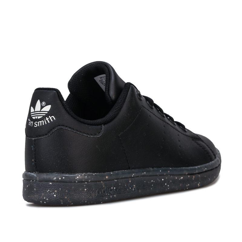Boty Adidas Originals Childrens Stan Smith Trainers Black