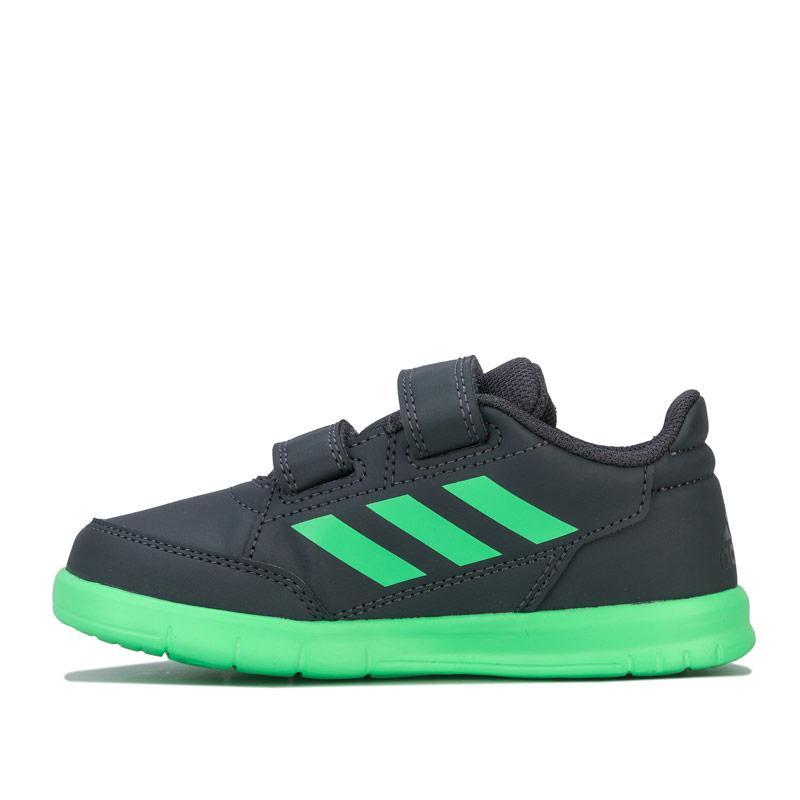 Boty Adidas Infant Boys AltaSport Trainers Grey