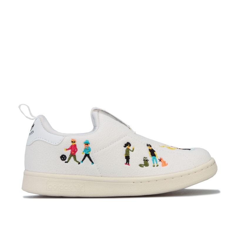 Boty Adidas Originals Infants Stan Smith 360 Trainers White