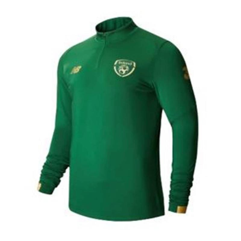 New Balance Ireland Mid Layer Zip Top Mens Eden