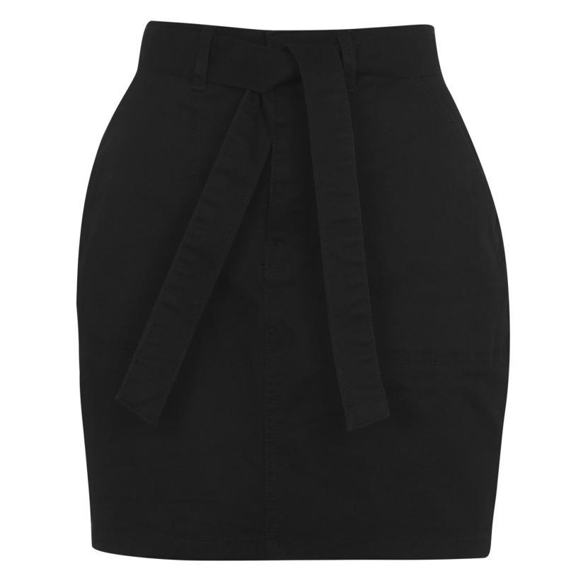 Sukně SoulCal Belted Skirt Ladies Black