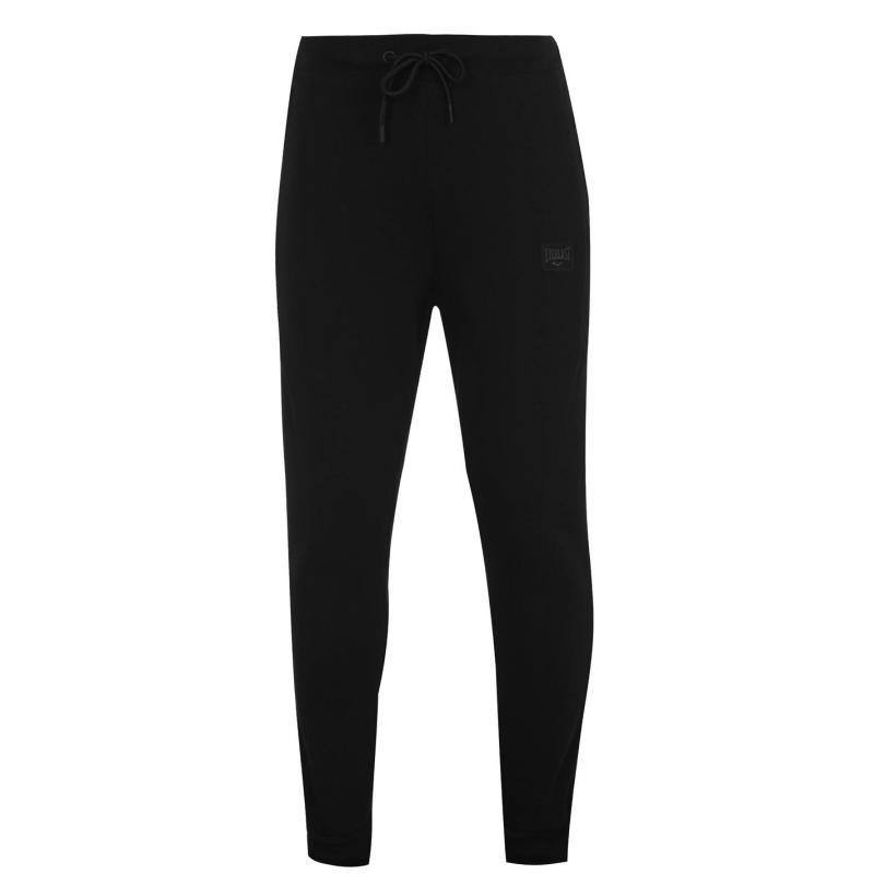 Tepláky Everlast Premium Closed Hem Jogging Bottoms Black