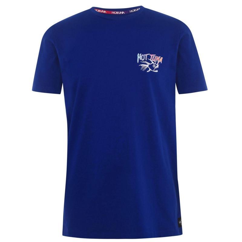 Tričko Hot Tuna Back Graphic T Shirt Mens Royal