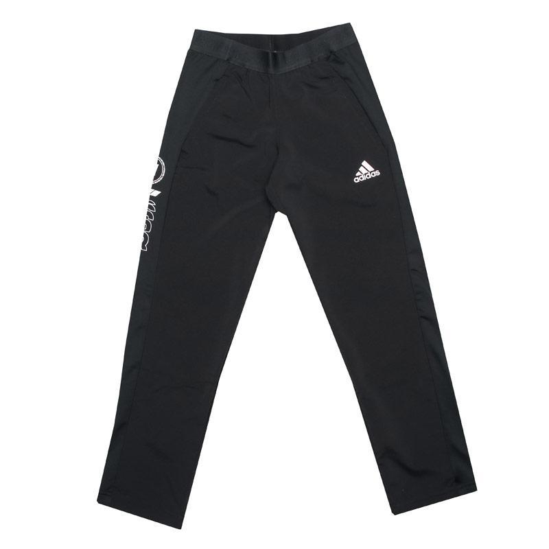 Kalhoty Adidas Junior Boys Slim Woven Pants Black-White