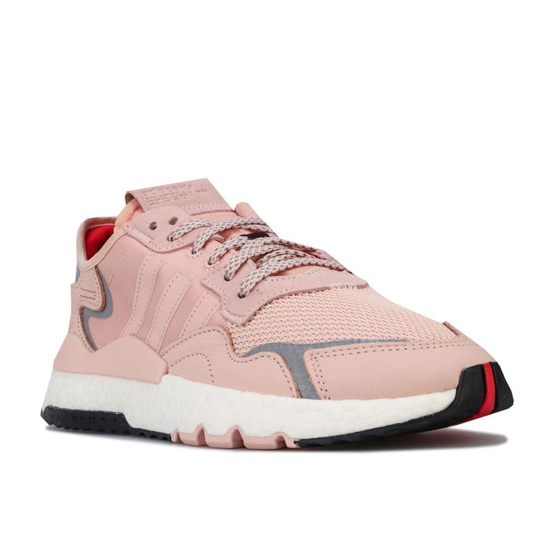 Adidas Originals Womens Nite Jogger Trainers Pink