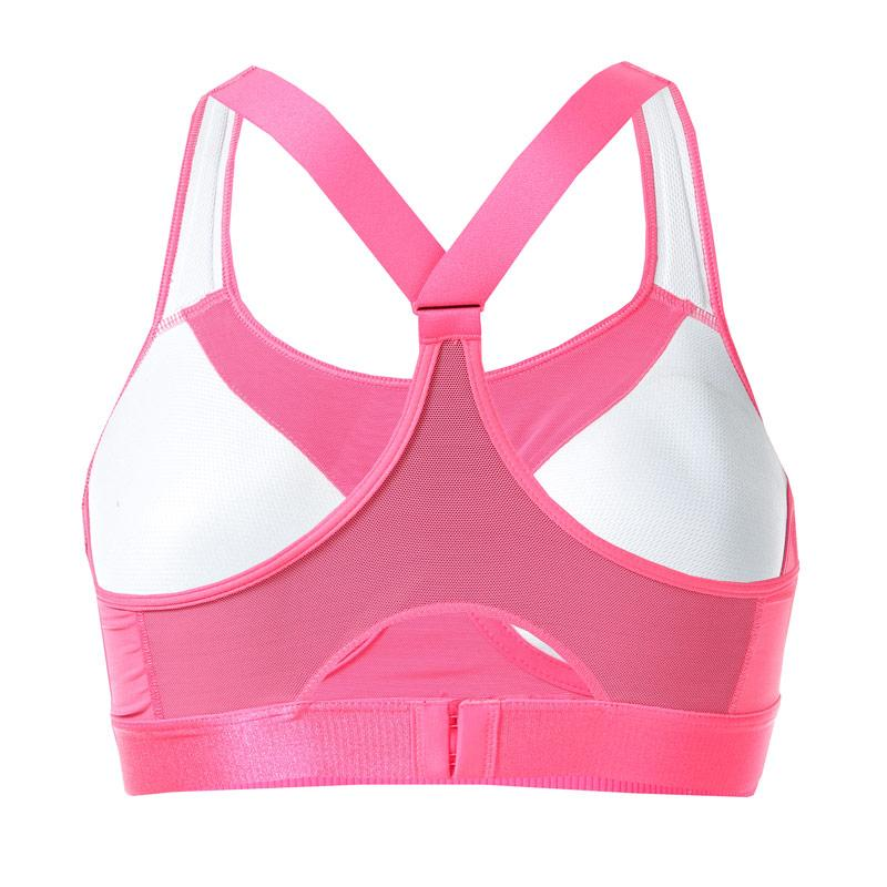 Adidas Womens Stronger For It Racer Bra Pink