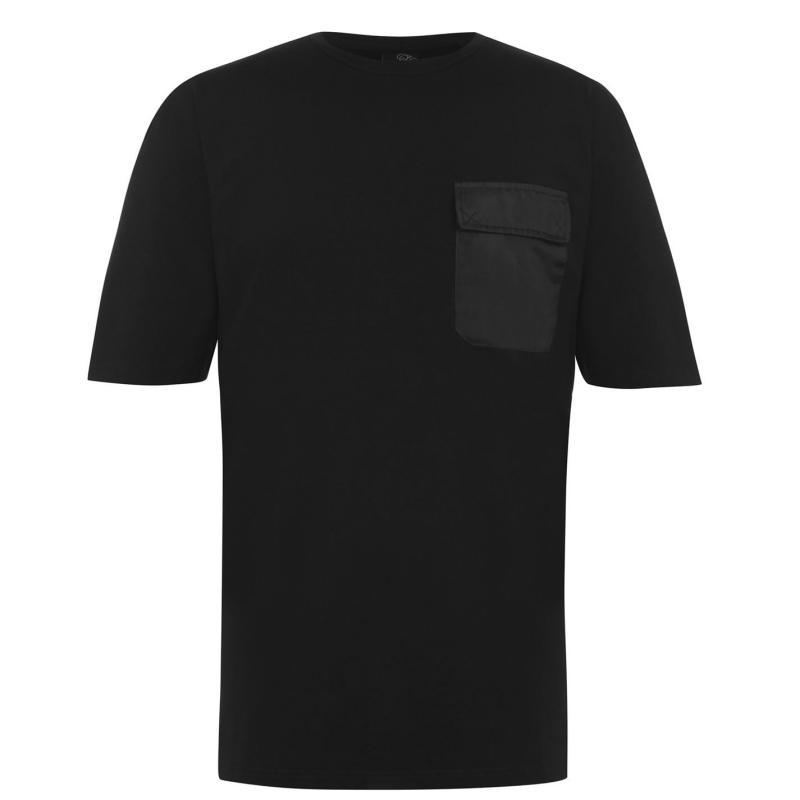 Tričko Fabric Pocket T Shirt Mens Black