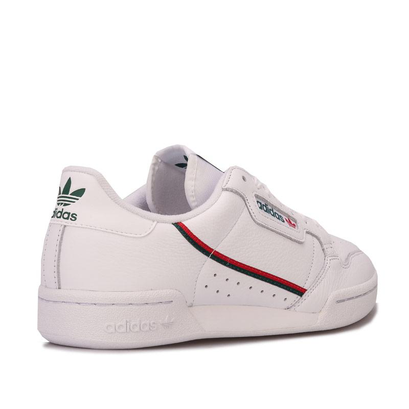 Adidas Originals Mens Continental 80 Trainers White Green