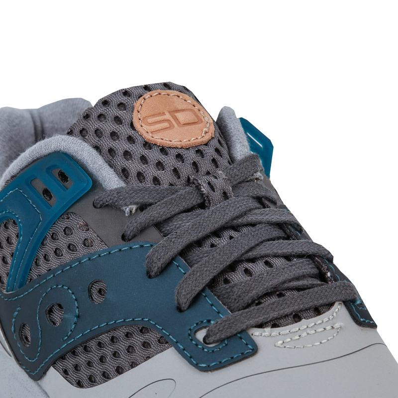 Saucony Mens Grid SD HT Trainers Grey blue