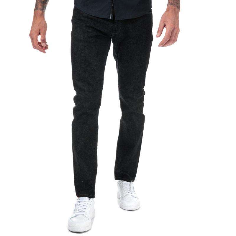 Armani Mens J06 Slim Fit Jeans Denim
