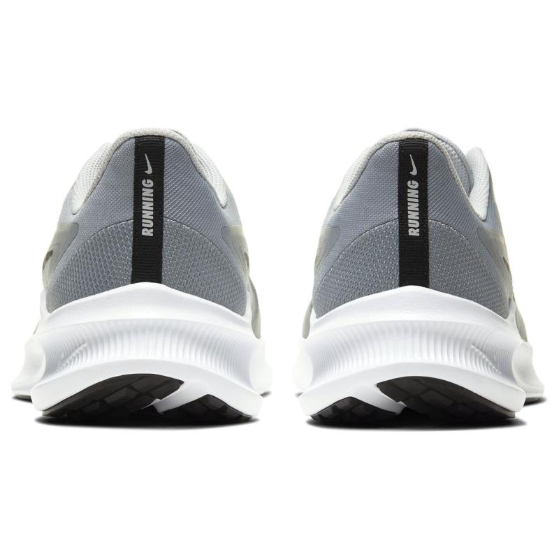 Nike Downshifter 10 Trainers Mens PARTICLE GREY/BLACK-GREY FOG-W