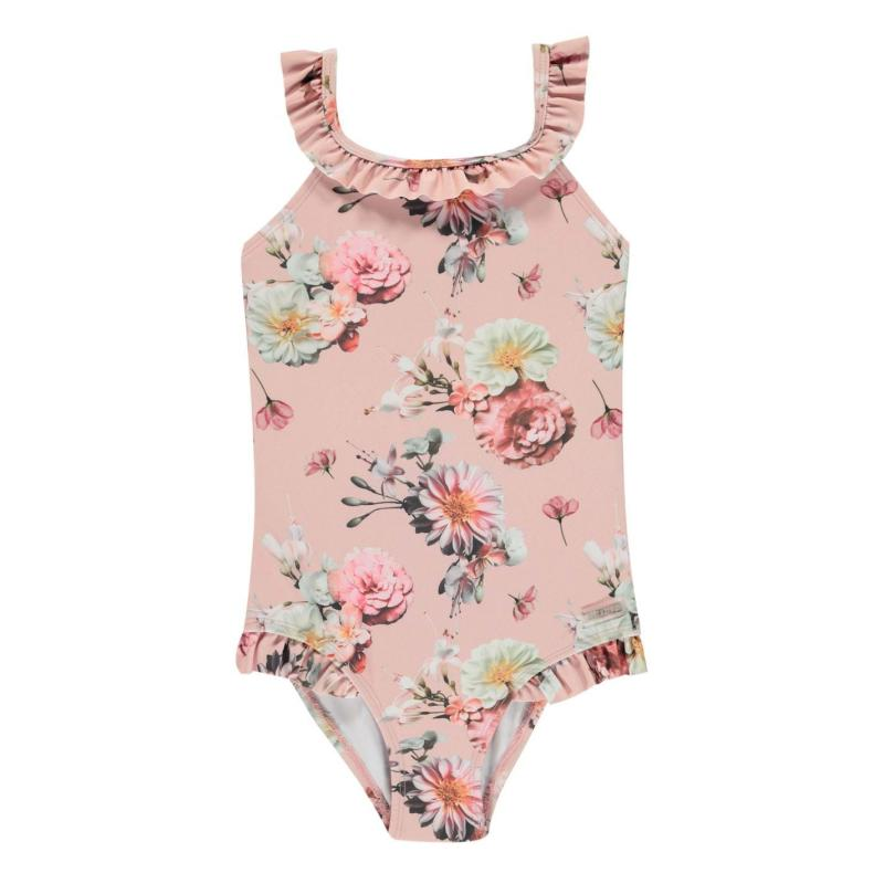 Firetrap Swimsuit Infant Girls Lotus Flowers