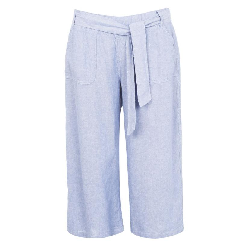 M Collection Crop Trousers Denim