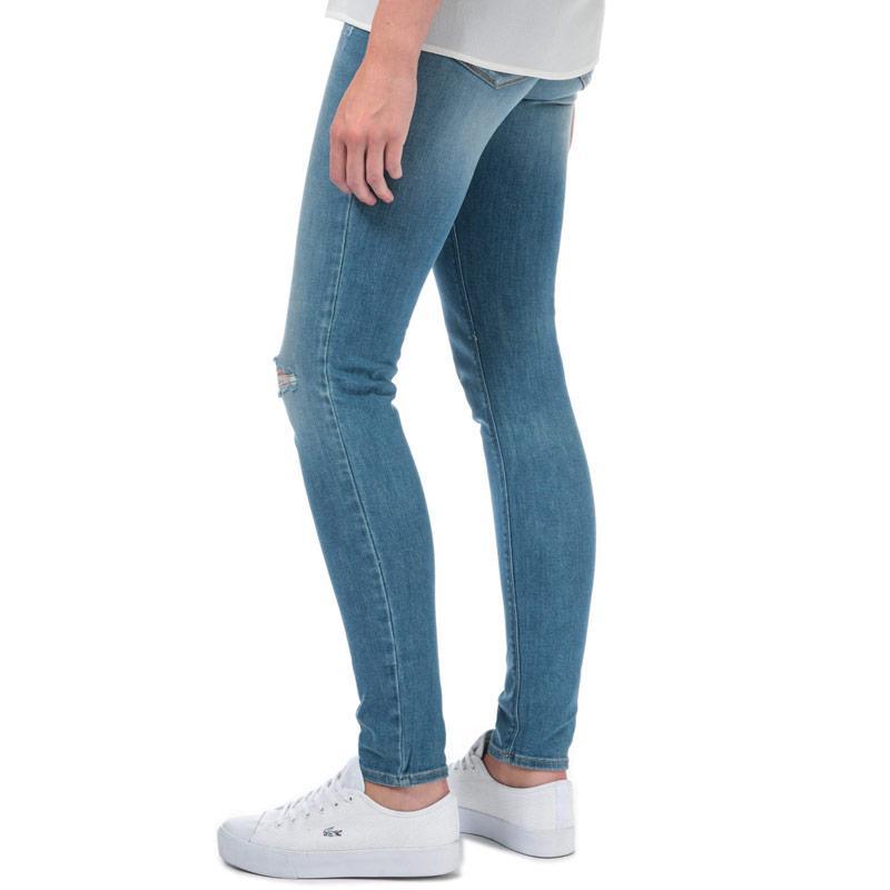 Armani Womens J28 Skinny Fit Jeans Denim