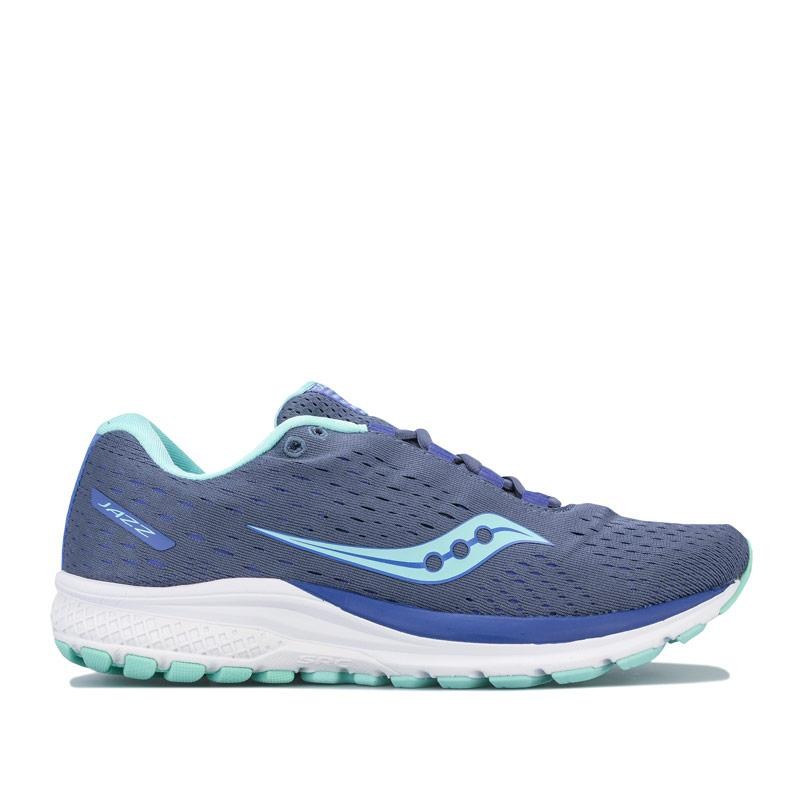 Saucony Womens Jazz 20 Running Shoes Grey