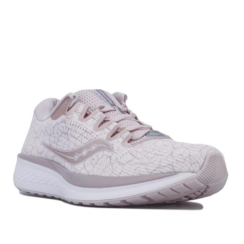Saucony Womens Jazz 21 Running Shoes Nude