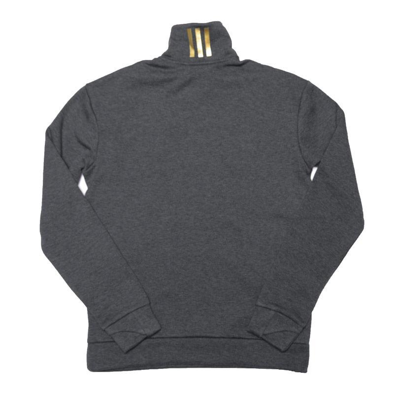 Mikina Adidas Junior Boys ID Holiday Zip Sweatshirt Grey