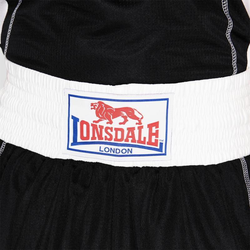 Lonsdale Performance Boxing Shorts Mens Black