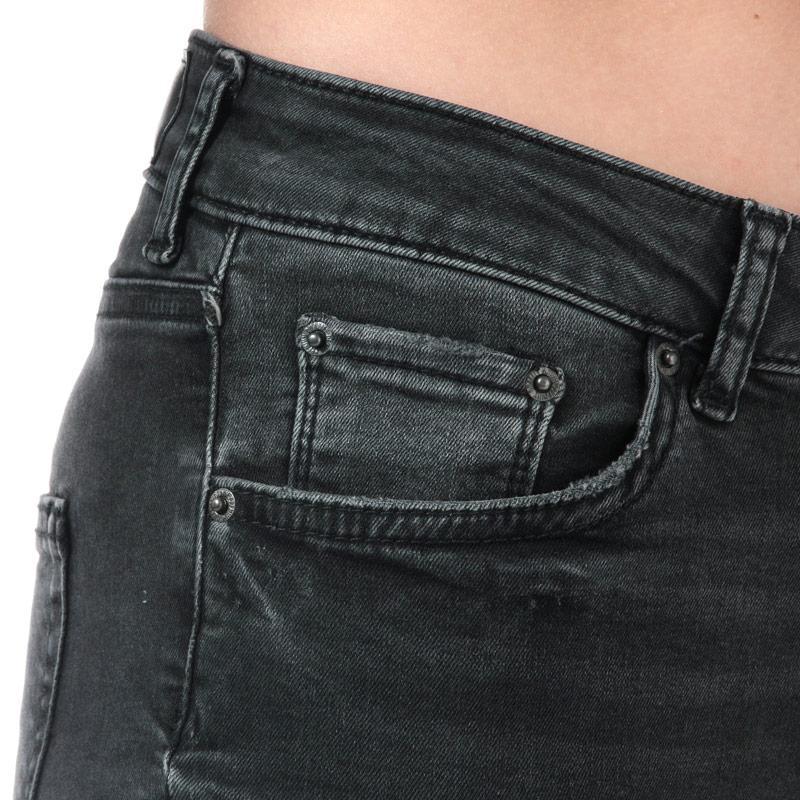 Vero Moda Womens Lux Super Slim Skinny Jeans Black