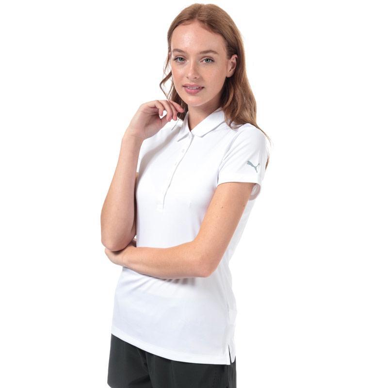 Puma Womens Pounce Polo Shirt White