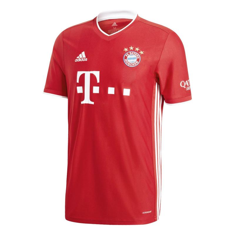 Adidas Bayern Munich Home Shirt 2020 2021 Red