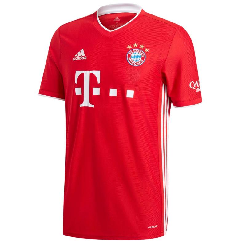 Adidas Bayern Munich Home Shirt 2020 2021 Junior Red