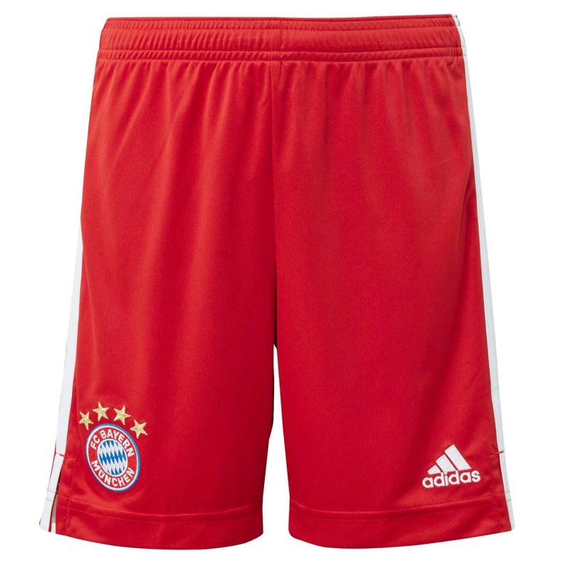 Adidas Bayern Munich Home Shorts 2020 2021 Junior Red