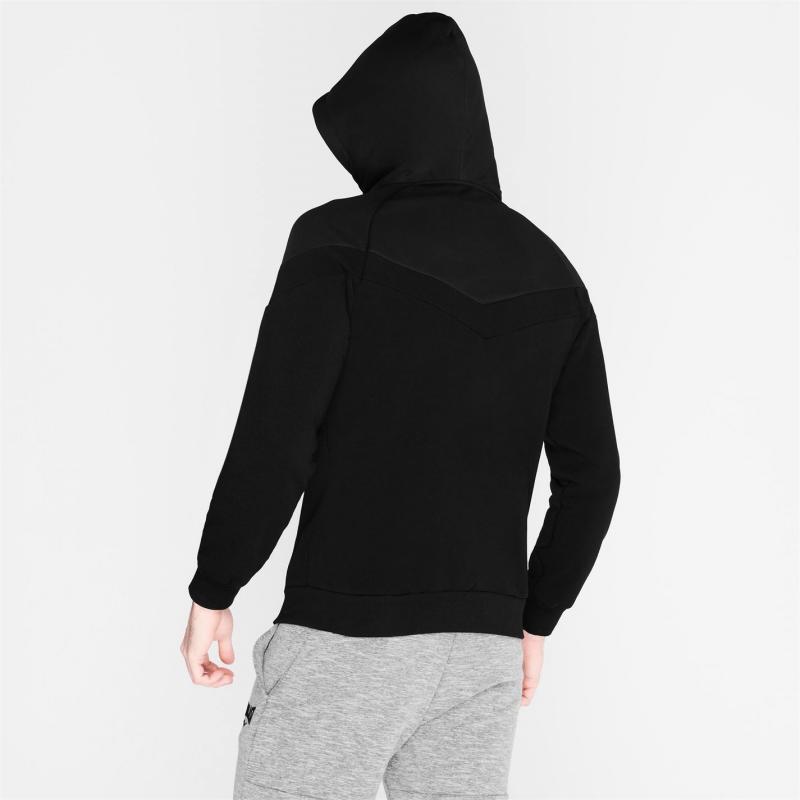 Mikina Everlast Premium Zip Hoody Mens Black