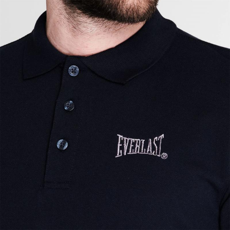 Everlast Pique Polo Shirt Mens Navy Marl