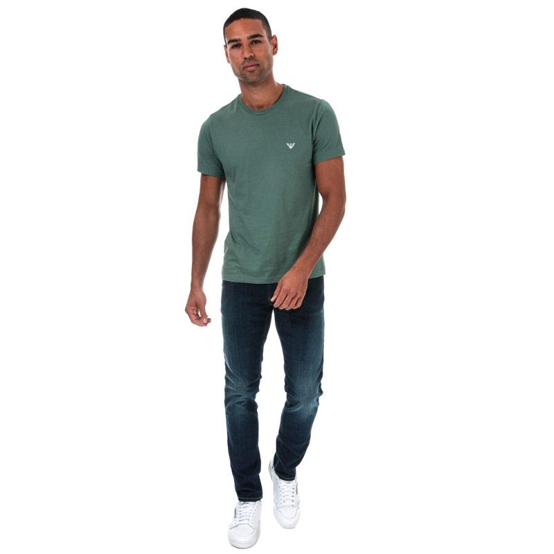 Armani Mens J06 Slim Fit Jeans Denim