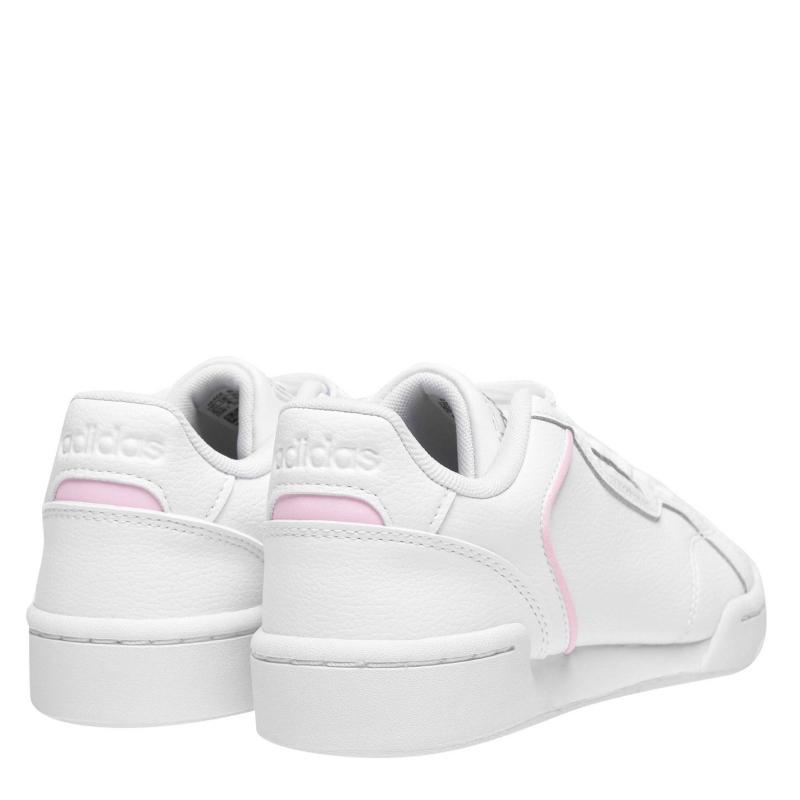Adidas Roguera Leather Trainers Ladies White/Pink