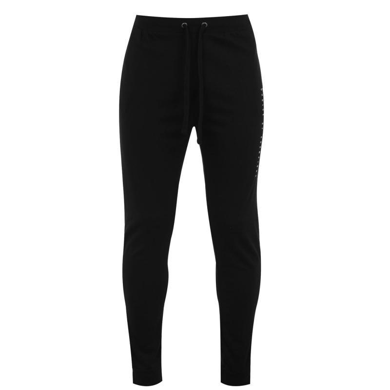 Tepláky Everlast Logo Jogging Pants Mens Black