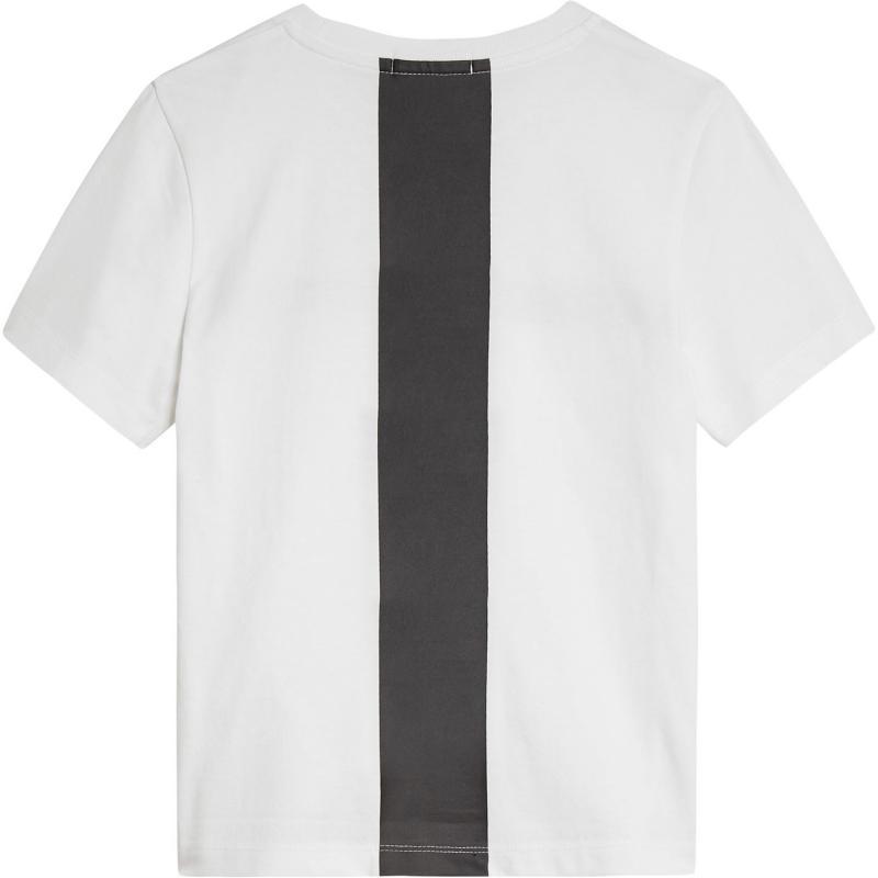 Tričko Calvin Klein Junior Boys Hero Logo Short Sleeve T Shirt Bright White
