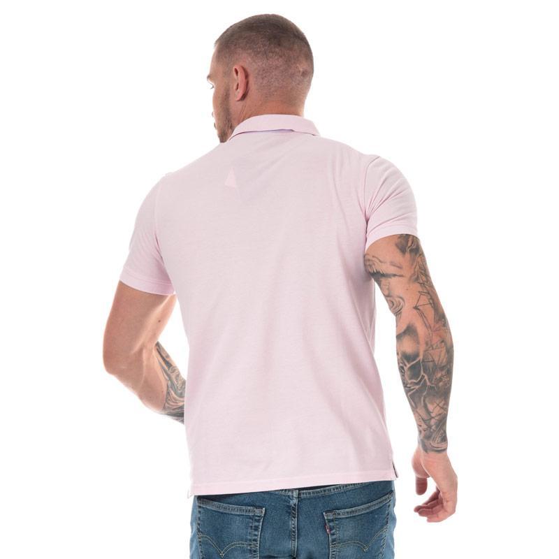 Timberland Mens Millers River Jacquard Polo Shirt Lilac