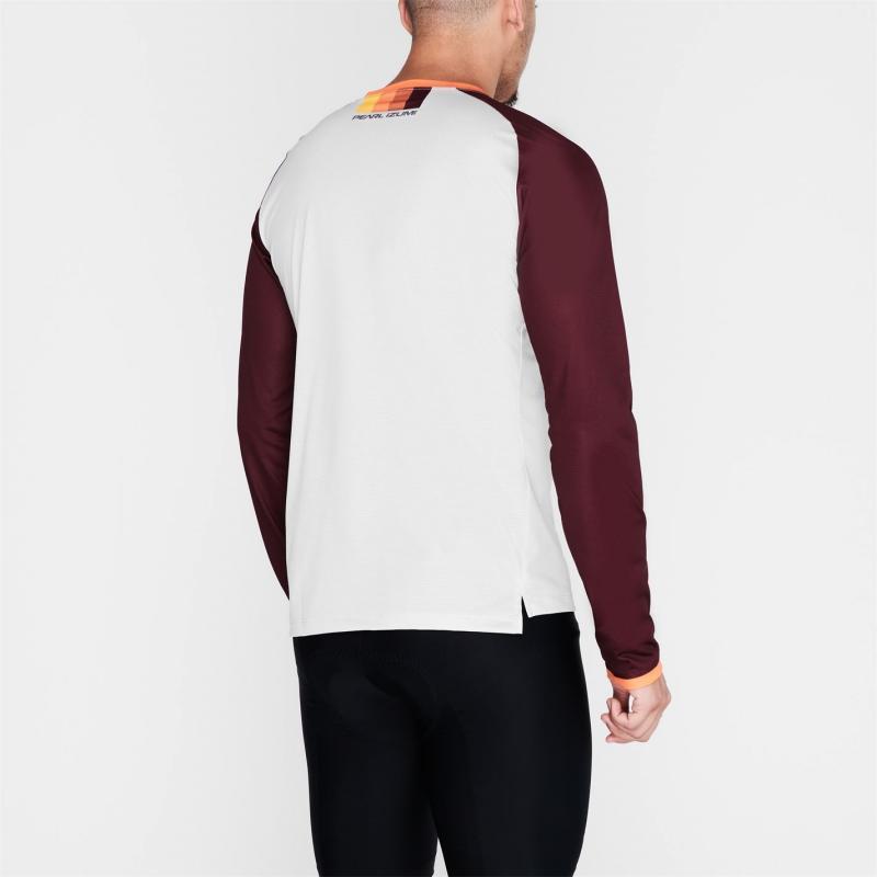 Pearl Izumi Long Sleeve Jersey Mens Grey/Orange