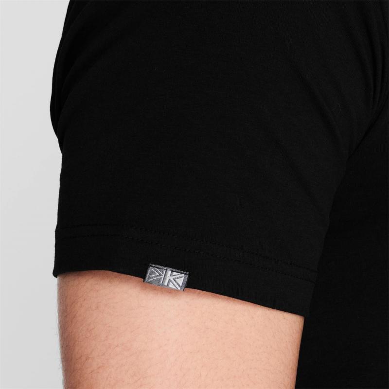 Karrimor Organic T Shirt Mens Black