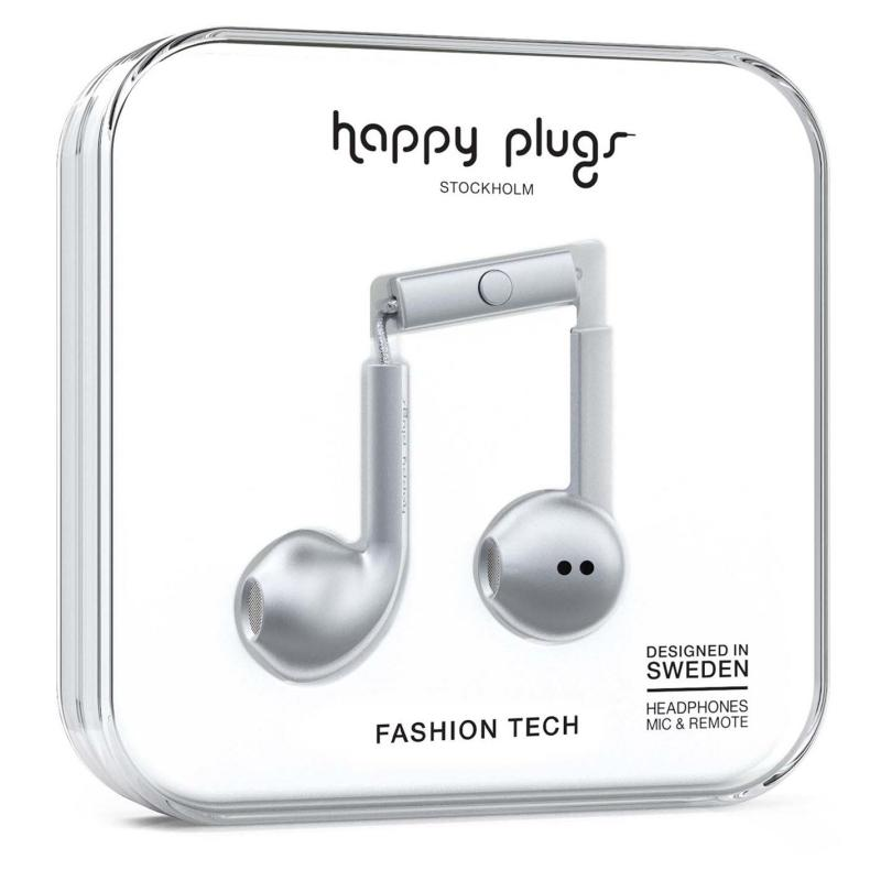 Happy Plugs Earbud Plus Space Grey