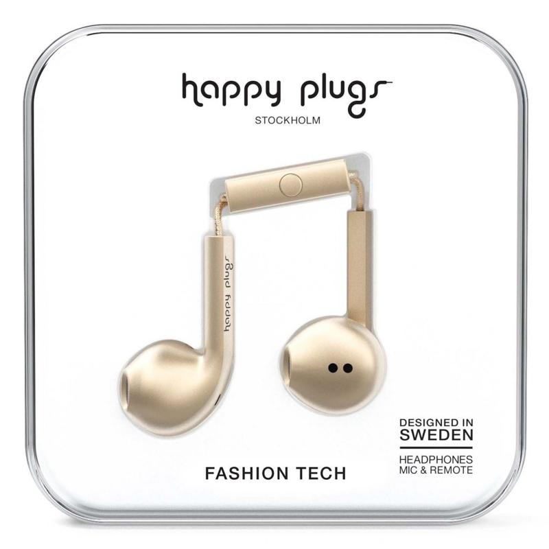 Happy Plugs Earbud Plus Champagne