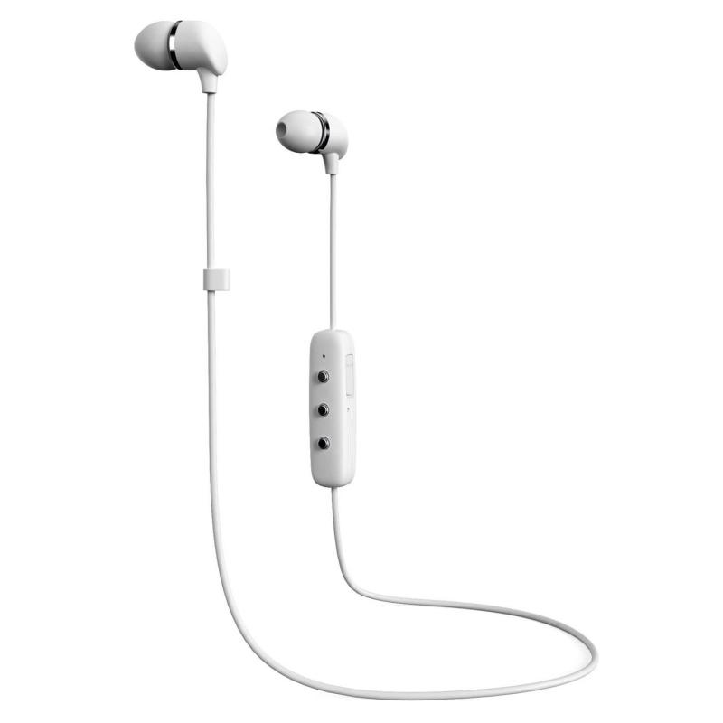 Happy Plugs In Ear Wireless Headphones White