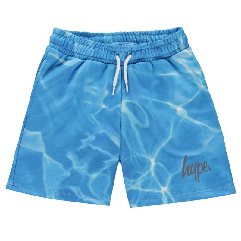 Plavky Hype Pool Print Shorts Blue