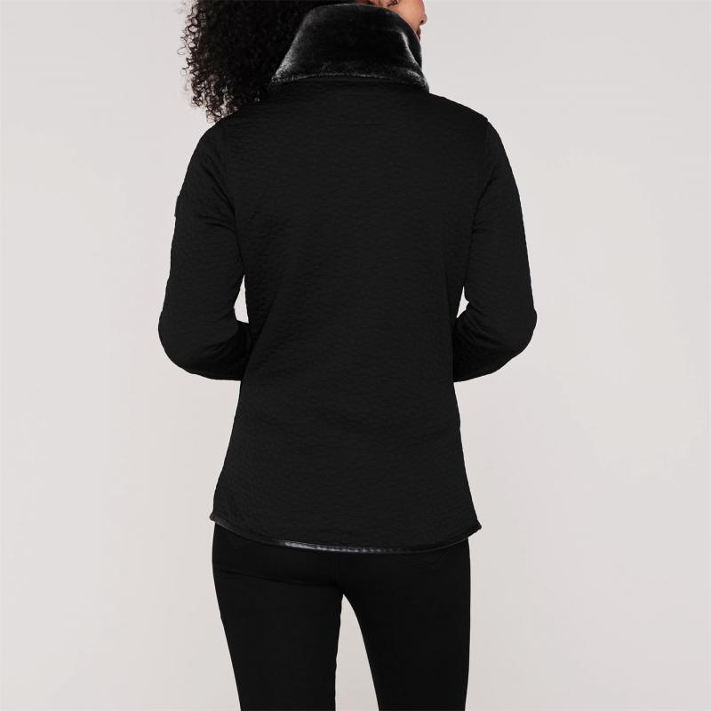 Mikina Regatta Tayla Zip Fleece Jacket Black