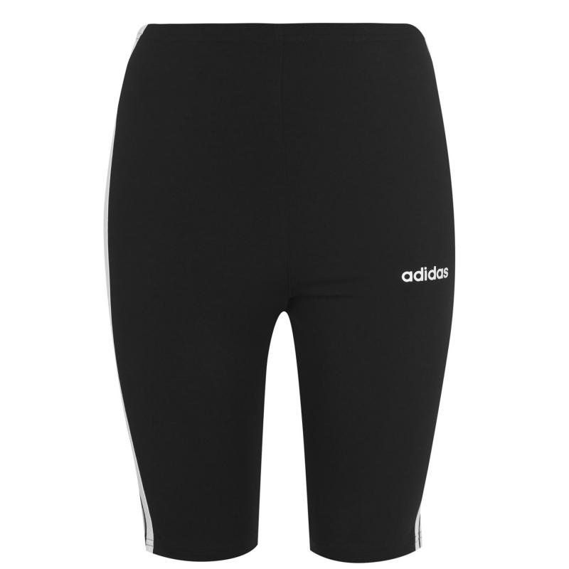 Adidas Essential 3S Shorts Womens Black/White
