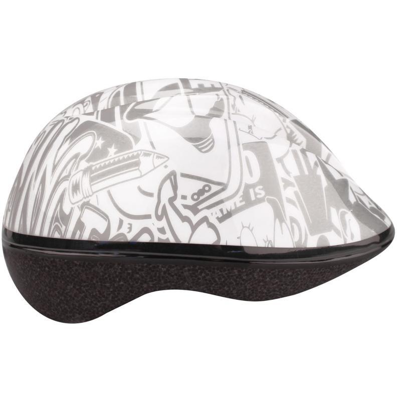 Avento Print Cycling Helmet Junior White/Grey
