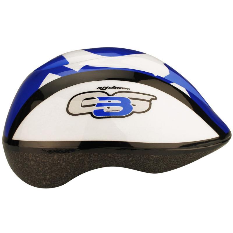 Avento Print Cycling Helmet Junior Blue/White